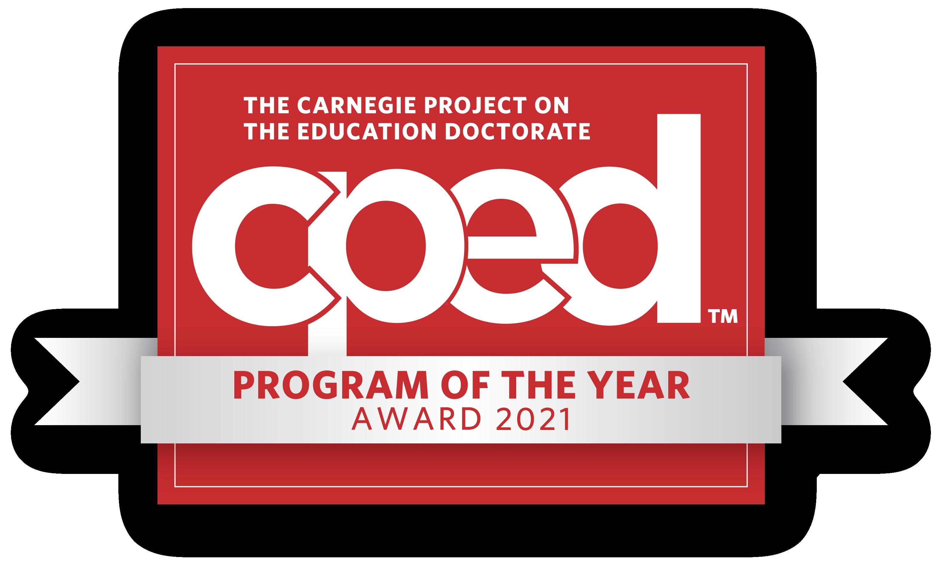 2021 CPED Program of the Year Award logo