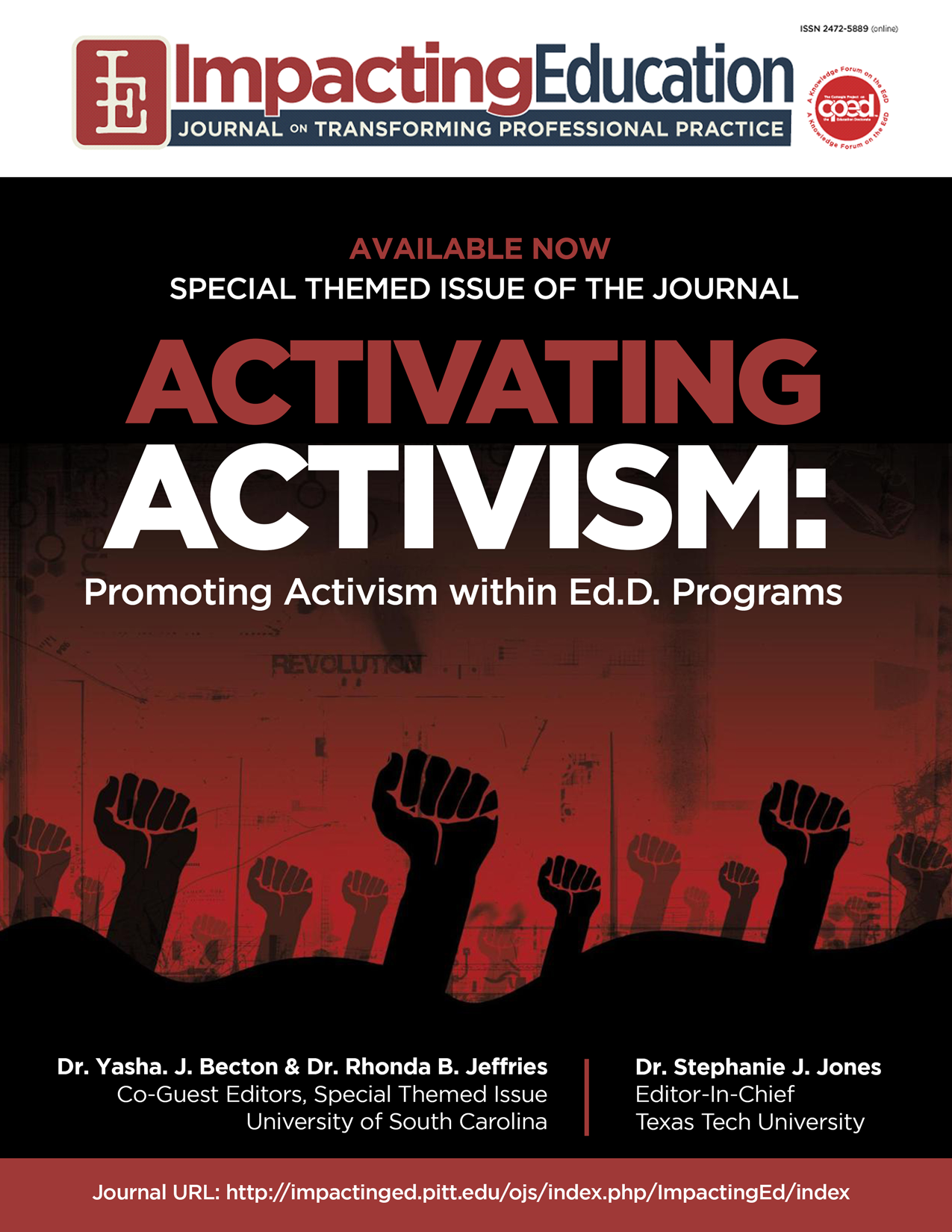 Impacting Education: Activating Activism: Promoting Activism within EdD Programs